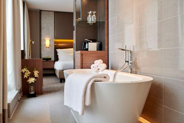 Hanse 3-pack luxury hotel bath mats